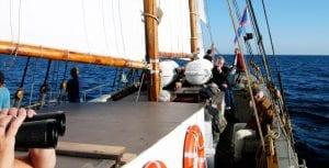Eftermiddagssegling @ Klara Marie i Skillinge hamn | Skillinge | Skåne län | Sverige