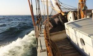 Kvällssegling @ Klara Marie i Skillinge hamn | Skillinge | Skåne län | Sverige
