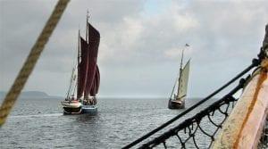 Gemensam skutsegling - Vi seglar till Kivik