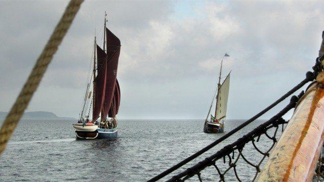 Vi seglar till Äppelmarknaden på Kivik