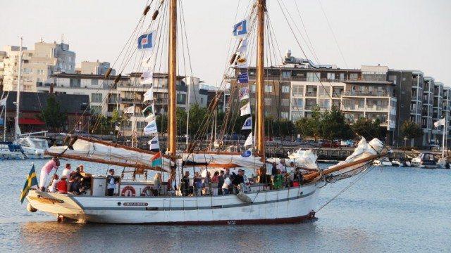 Segla med Klara Marie på Hamnfestivalen på Limhamn