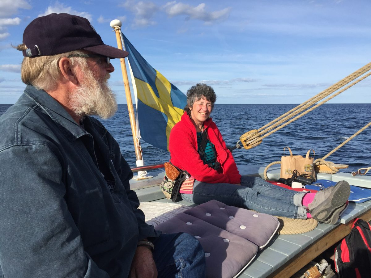 Följ med ut på sjön med Klara Marie